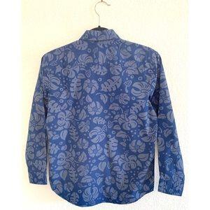 GAP Shirts & Tops - GAP Kids Hawaiian print collared shirt size large